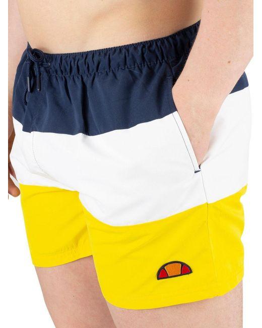 301c6febb9 ... Ellesse - Ba?ador Cielo Yellow Men's Shorts In Yellow for Men ...