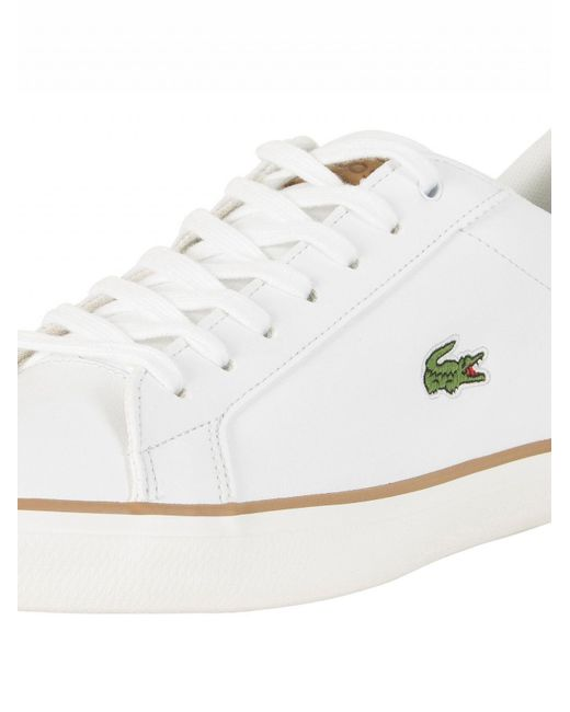 Light 118 Trainers In White - White Lacoste aswkuT