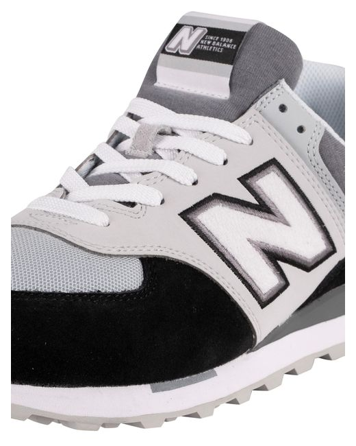 New Balance 574 Sky Lite Suede Trainers