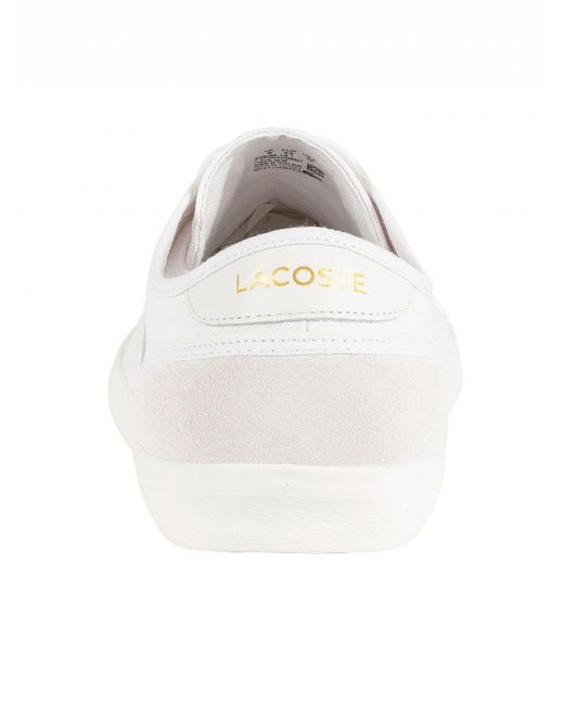 450f574af ... Lacoste - Men s Sideline 119 1 Cma Canvas Trainers