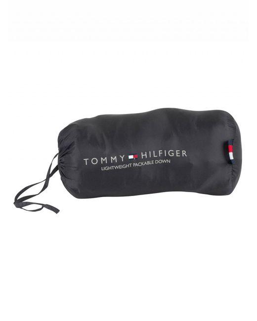 0afaa85f0891 ... Tommy Hilfiger - Jet Black Core Lightweight Packable Down Jacket for Men  - Lyst ...