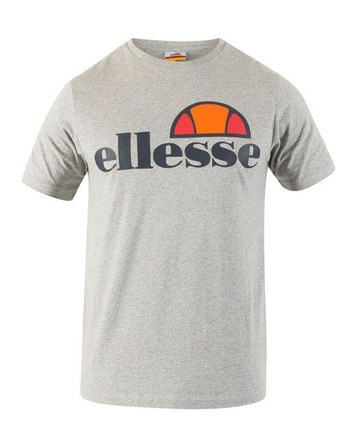 35c11bed Men's Gray Athletic Grey Marl Prado Graphic T-shirt