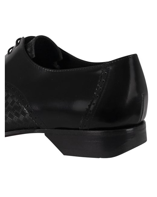 Jeffery West Mens Polished Leather Shoes Red