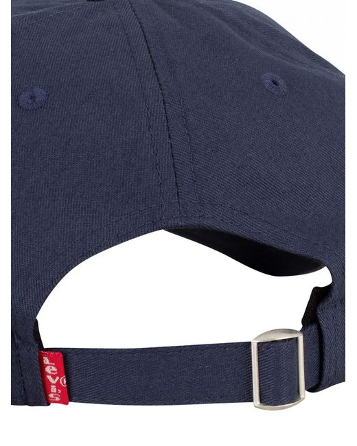 45394044 ... Levi's - Blue Navy Batwing Flex Fit Baseball Cap for Men - Lyst