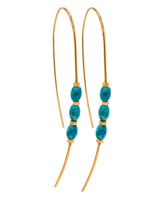 Yossi Harari - Blue Michel Turquoise Earrings - Lyst