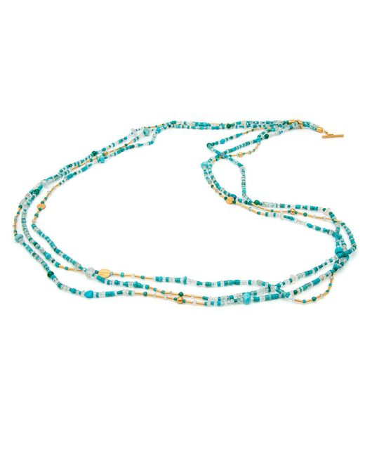 Yossi Harari | Blue Mix Wrap Turquoise Necklace | Lyst
