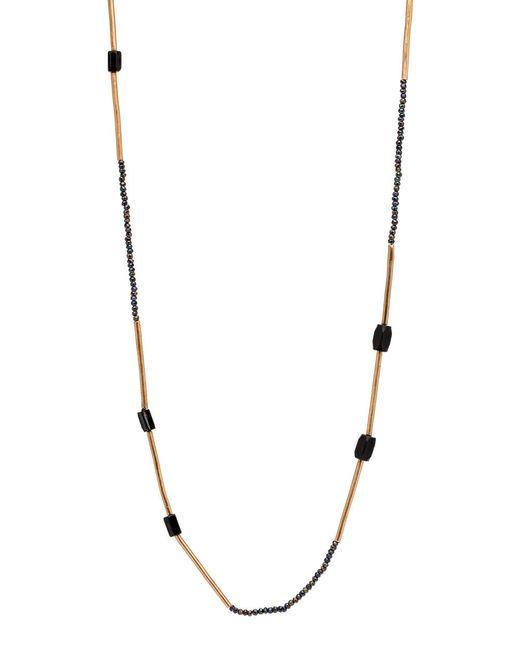 Julie Cohn   Blue Mari Indigo Mini Bead Necklace   Lyst