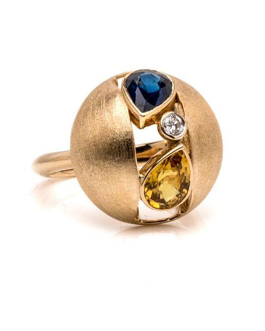 Ana Katarina   Blue Sapphire Ring   Lyst