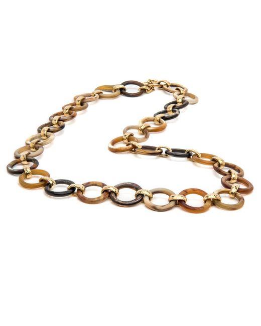 Ashley Pittman | Metallic Mtego Mixed Horn Necklace | Lyst