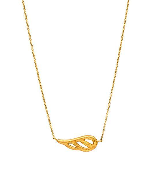 Yossi Harari   Metallic Gold Wing Pendant Necklace   Lyst