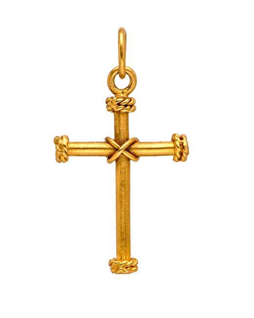 Yossi Harari - Metallic Gold Cross Pendant - Lyst