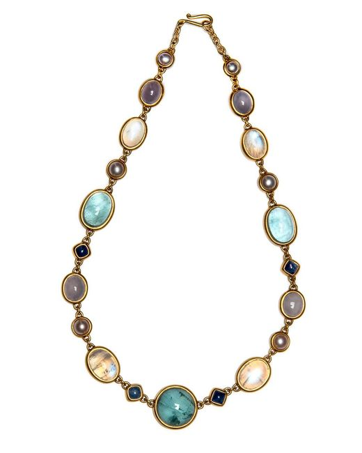 Darlene De Sedle   Multicolor Multi Stone Cabochon Necklace   Lyst