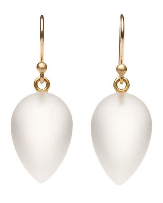 Ted Muehling | Multicolor Frosted Acorn Earrings | Lyst