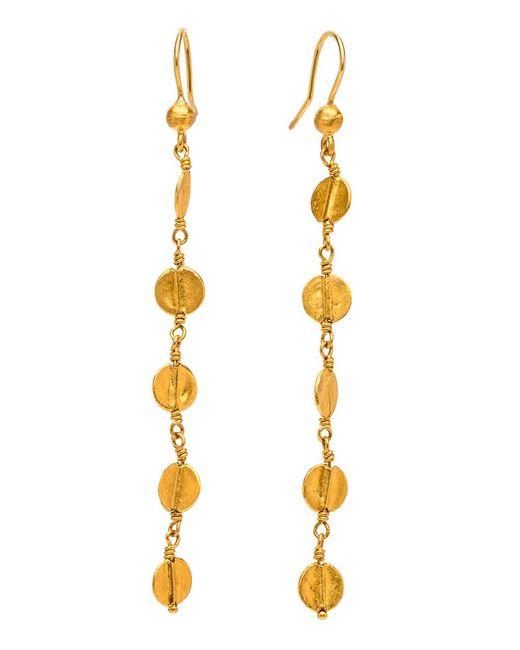 Yossi Harari - Metallic Butterfly Dangle Earrings - Lyst
