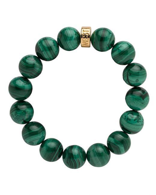 Nest - Green Malachite Stretch Bracelet - Lyst