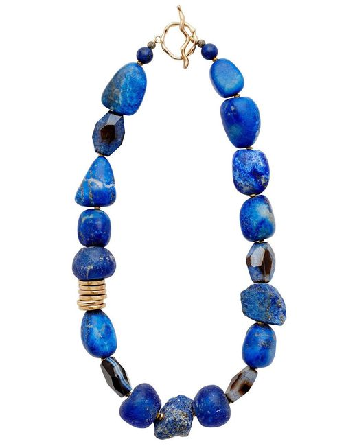Julie Cohn - Blue Indigo Lapis Necklace - Lyst