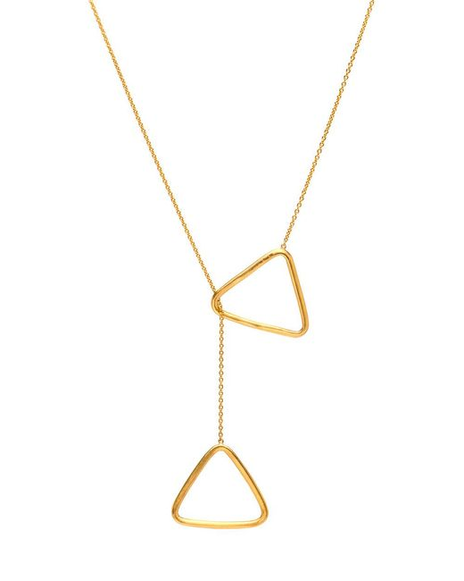 Yossi Harari - Multicolor Geometric Triangle Lariat Necklace - Lyst