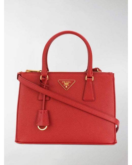 mini Galleria tote - Red Prada waCtkyNp