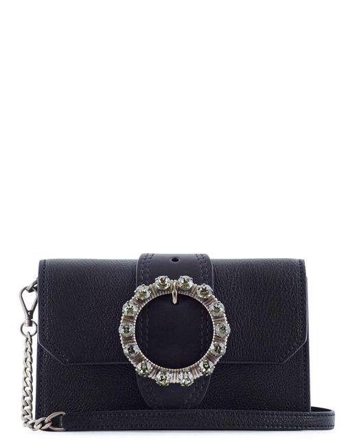 Miu Miu | Black Madras Pochette Style Bag | Lyst