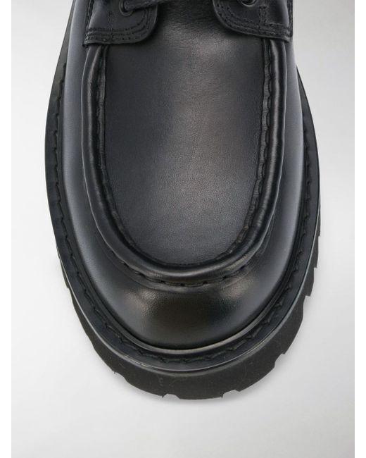 Anfibi VLTN di Valentino Garavani in Black da Uomo