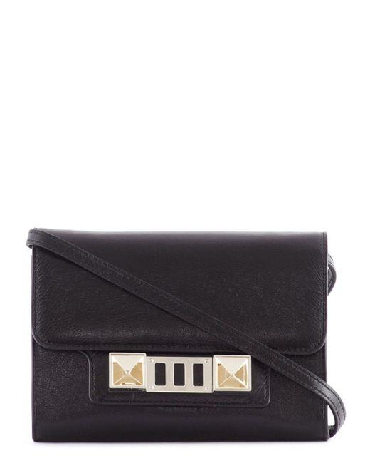 Proenza Schouler | Black Ps11 Leather Wallet | Lyst