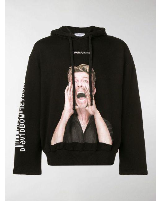 Ih Nom Uh Nit Kapuzenpullover mit Print in Black für Herren
