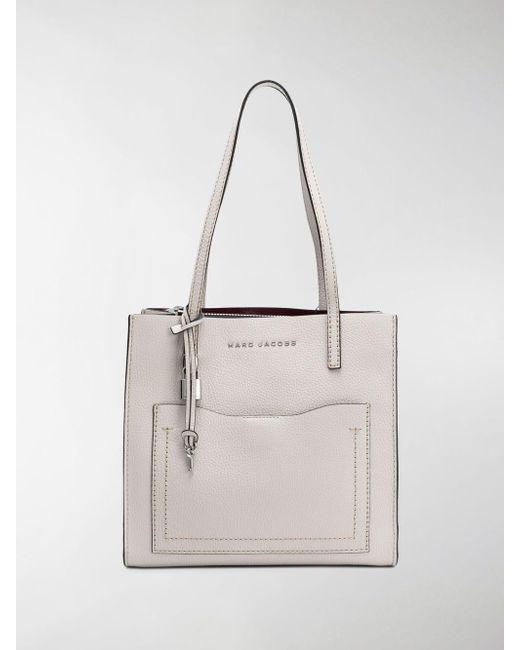 Marc Jacobs - Gray Medium Grind Tote Bag - Lyst