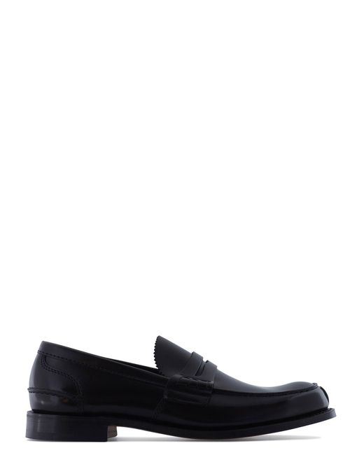Church's | Black Pembrey Leather Loafers for Men | Lyst