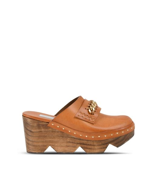 Stella McCartney | Burnt Orange Clogs | Lyst