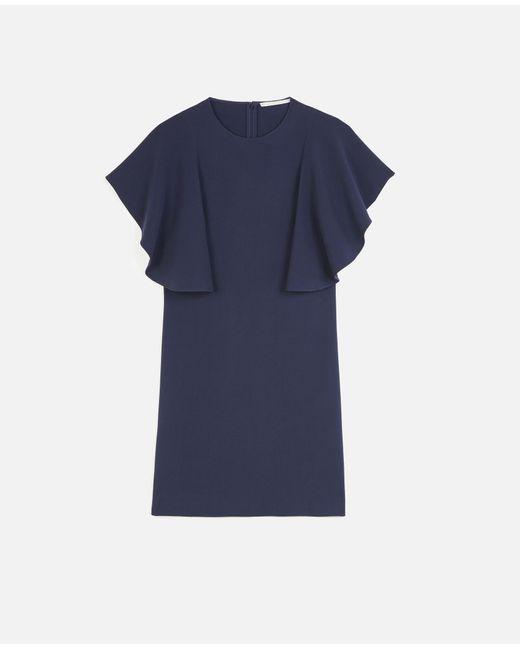 Stella McCartney ラナ ミニ ドレス Blue