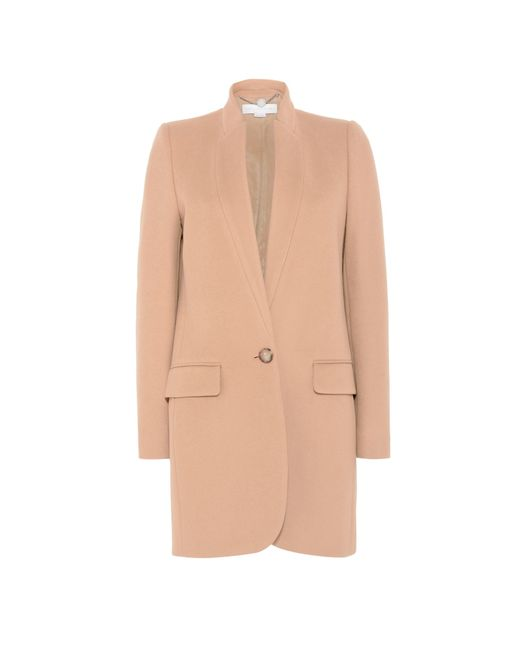 Stella McCartney | Blue Camel Bryce Coat | Lyst