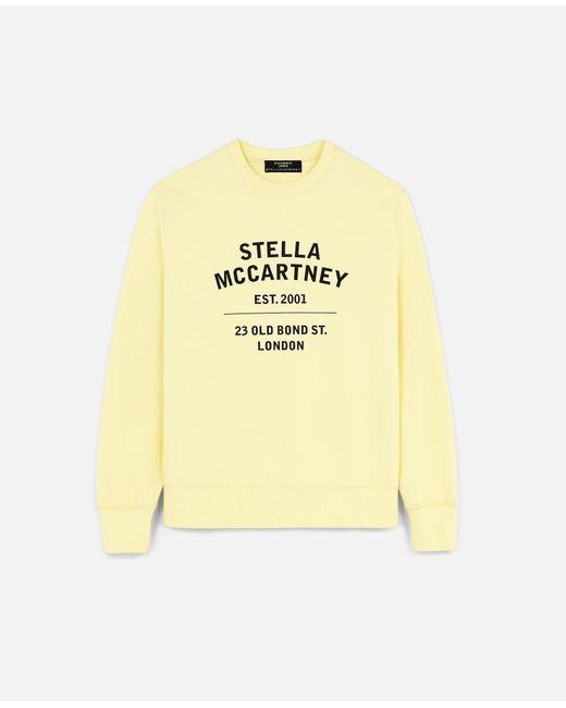 Stella McCartney 23 Obs オーガニック コットン スウェットシャツ Yellow
