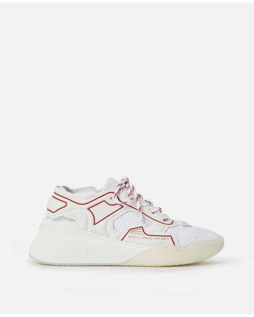 10dee9819f4 ... Stella McCartney - White Loop Sneakers for Men - Lyst ...