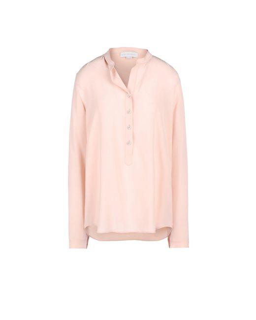 Stella McCartney - Pink Rose Eva Shirt - Lyst