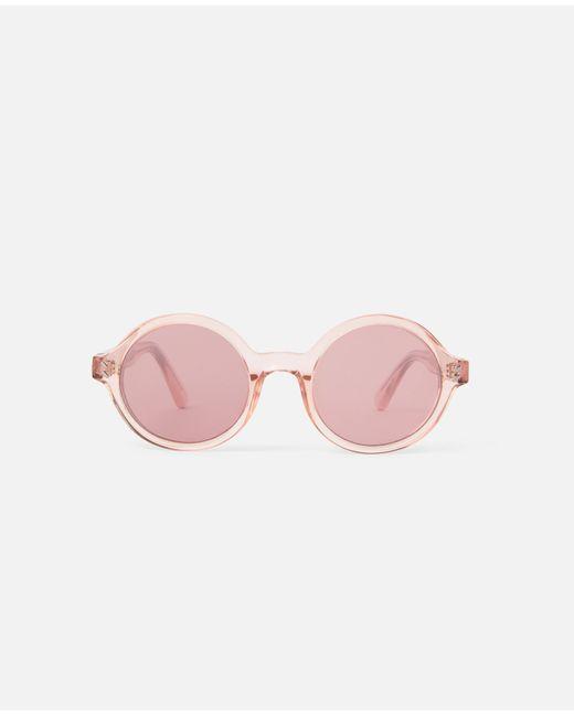 Stella McCartney ラウンド サングラス Pink