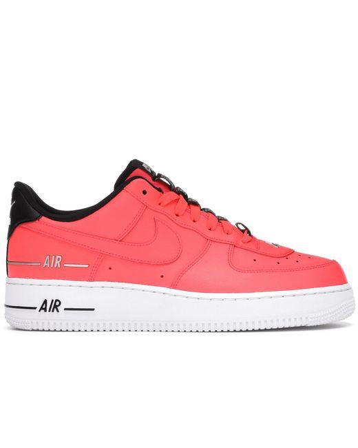Nike Red Air Force 1 '07 Laser Crimson for men