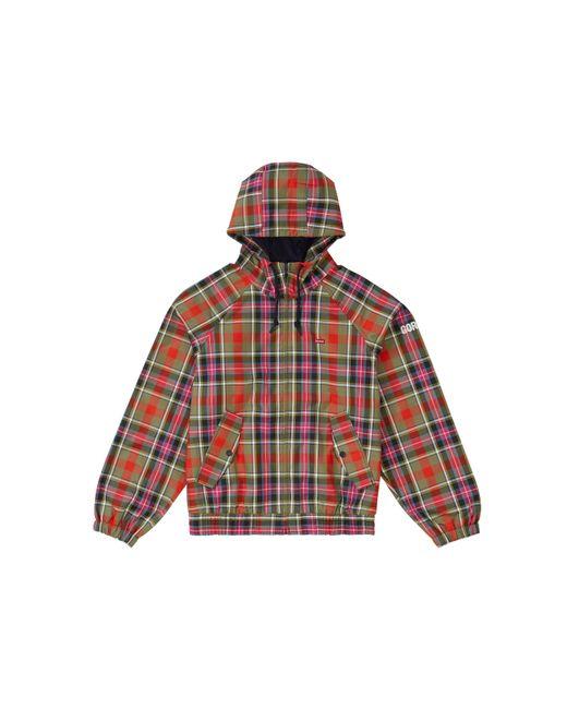 メンズ Supreme Gore-tex Hooded Harrington Jacket Red