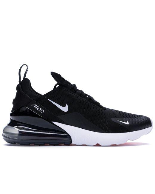 メンズ Nike Air Max 270 Black White