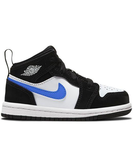 Nike 1 Mid Black Racer Blue White (td)