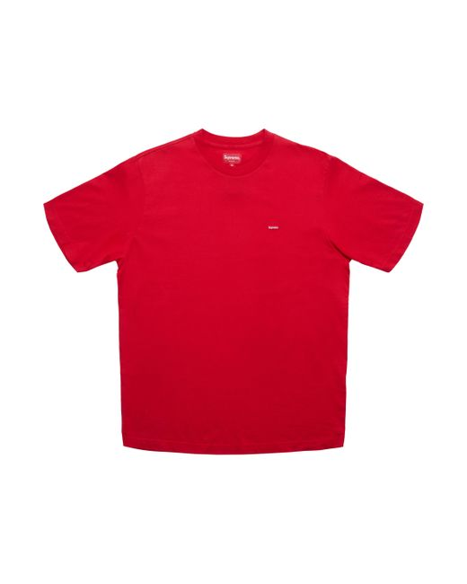 451f2488 Supreme Small Box Tee (ss18) Red in Red for Men - Lyst