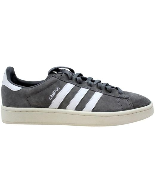Adidas Gray Campus Adv Shoes - Size 7.5 for men