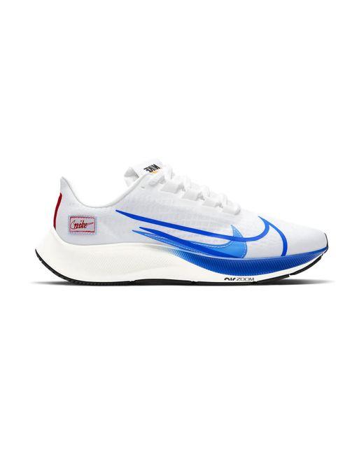 Nike Air Zoom 37 Premium Blue Ribbon Sports White for men