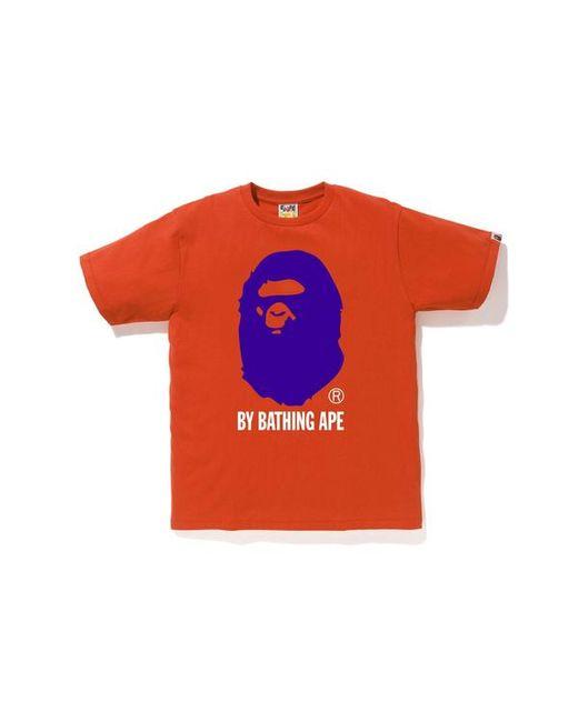 9c861931 A Bathing Ape Colors By Bathing Tee Orange/purple in Orange for Men ...