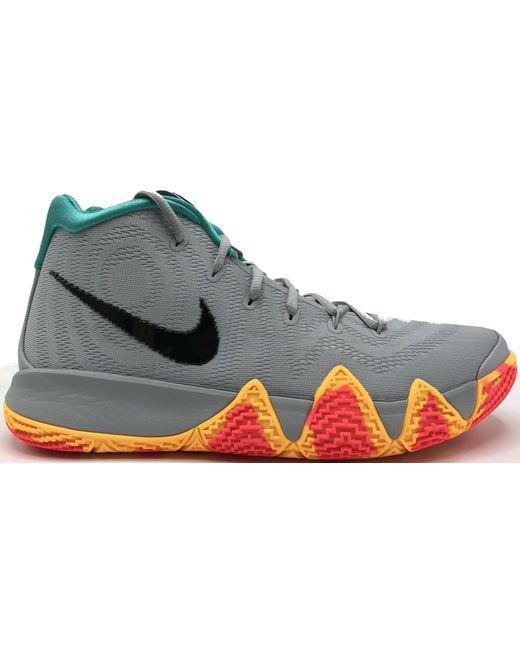 Nike Gray Kyrie 4 Eybl for men