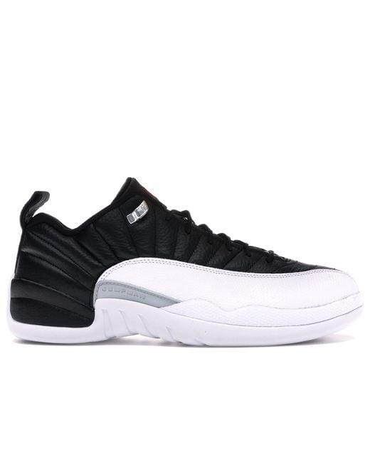 メンズ Nike 12 Retro Low Playoffs Black