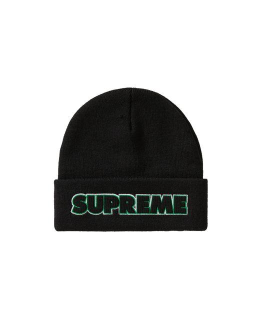 Supreme Black Outline Beanie (fw19) for men