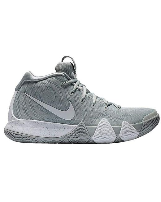 new concept a8f1c 031ae Men's Kyrie 4 Wolf Gray