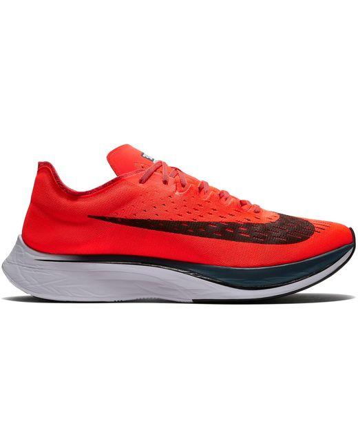 Nike Red Zoom Vaporfly 4% Bright Crimson for men