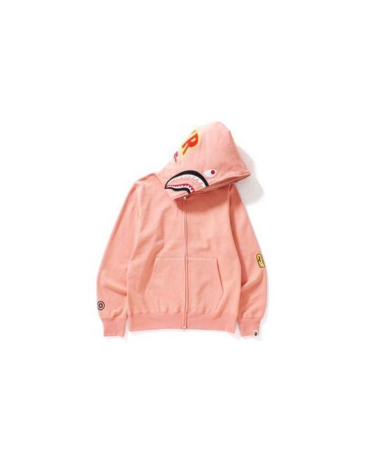 3fa62ae8 Lyst - A Bathing Ape 2nd Shark Full Zip Hoodie Pink in Pink for Men ...