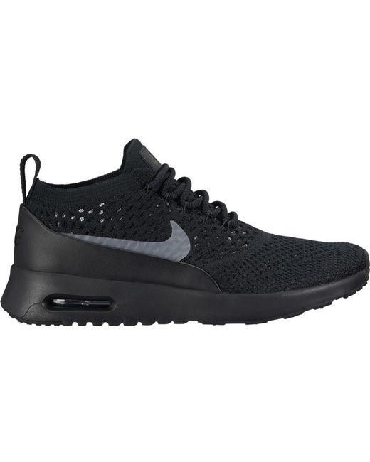 Nike Air Max Thea Ultra Flyknit Black Dark Grey (w)